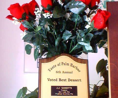 Taste of Palm Harbor 2002 Best Dessert