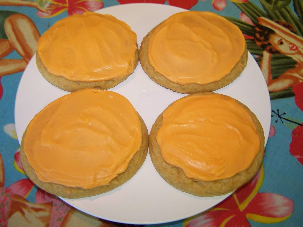 Oranges 'n Cream Cookies