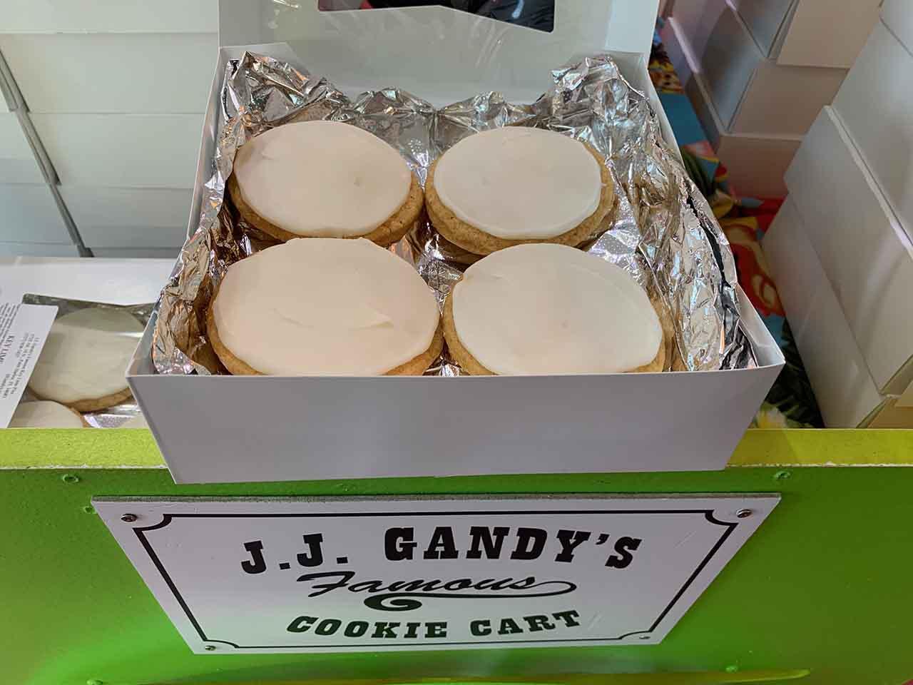 JJ Gandys Famous Key Lime Cookies